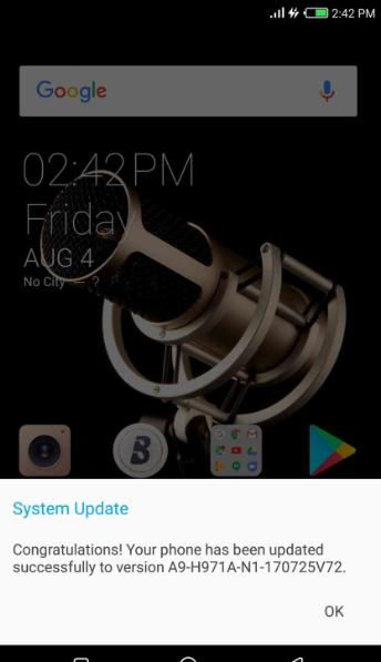 Tecno Phantom 6 Plus received Android 7 1 1 Nougat update